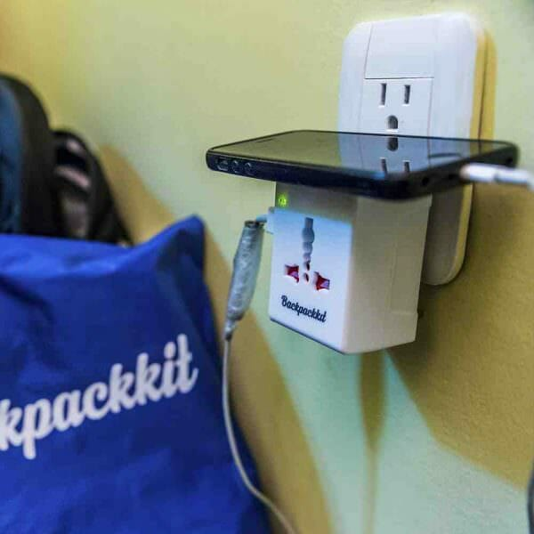 Reiseadapter backpackkit