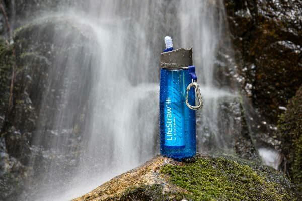 Backpackkit lifestraw go waterfilter