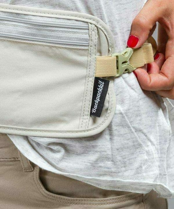 money belt backpackkit