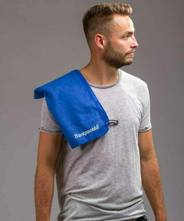 microvezel handdoek klein backpackkit