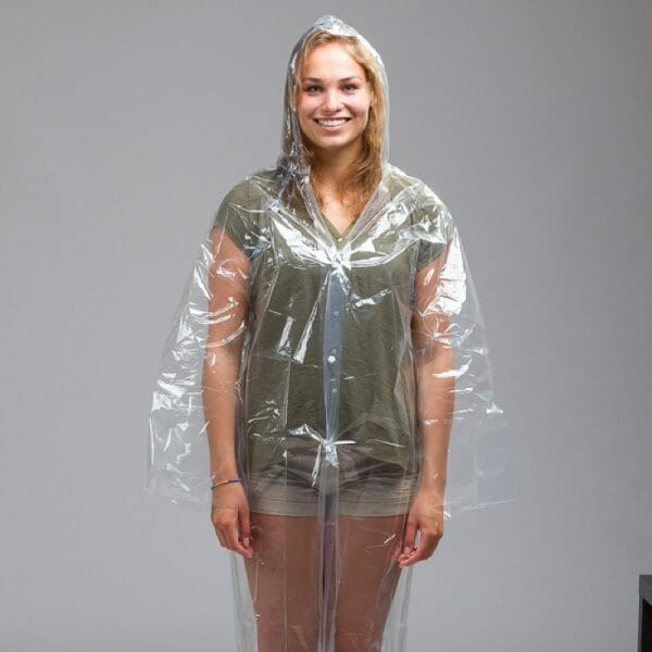 Backpackkit poncho backpacken