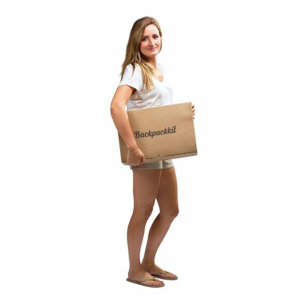 Backpackkit basispakket doos vrouw