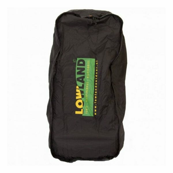 Backpackkit lowland flightbag regenhoes voor backpackers