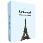 Bucket List Cards Backpackkit