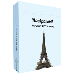 Bucket List Cards Backpackkit