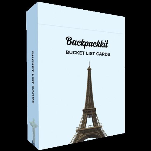 Image of Bucket List speelkaarten