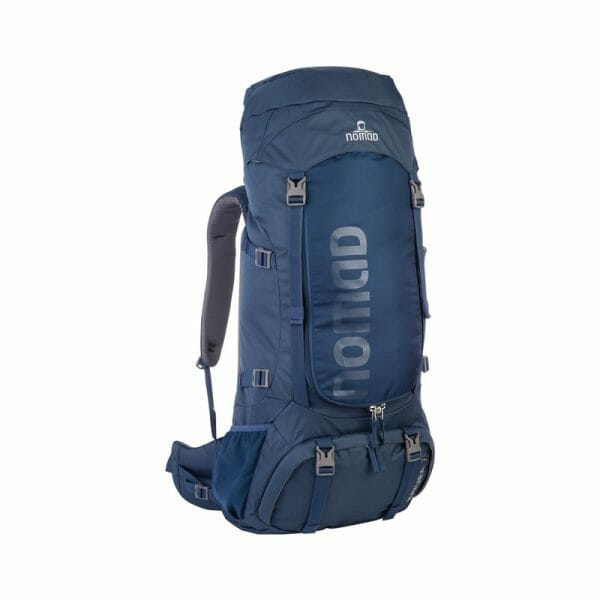 Backpackkit nomad batura 70 liter blauw