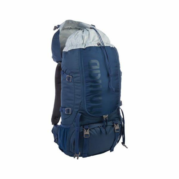 Backpackkit nomad batura backpack 55 Liter blauw open