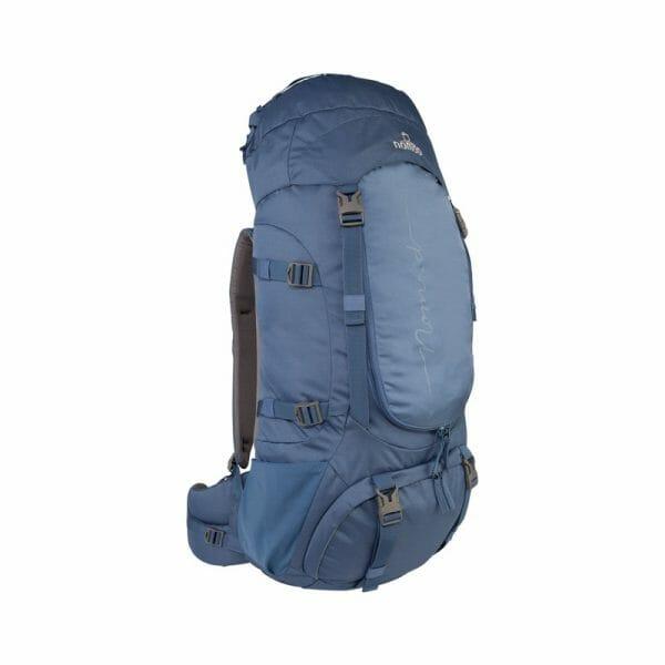Backpackkit nomad batura WF 55 liter blauw