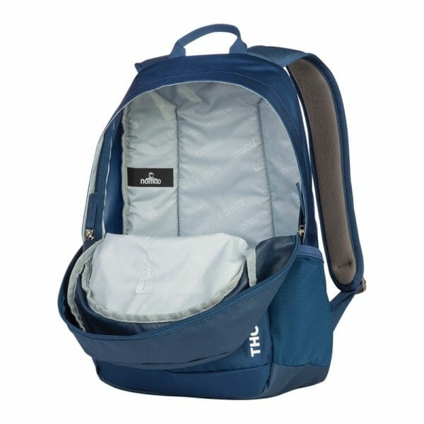 Backpackkit nomad daypakc thorite 20 Liter blauw open