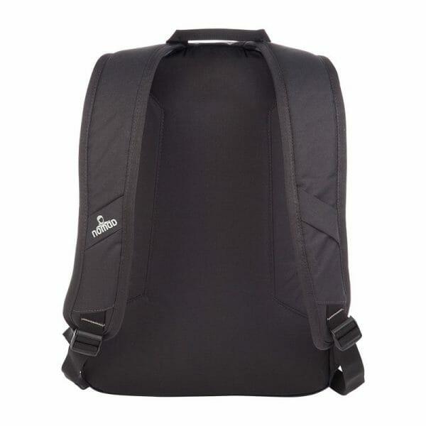 Backpackkit nomad daypack thorite 20 liter zwart achterkant