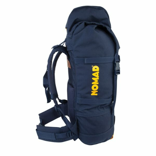 Backpackkit Nomad Eagle backpack 55 liter zijkant