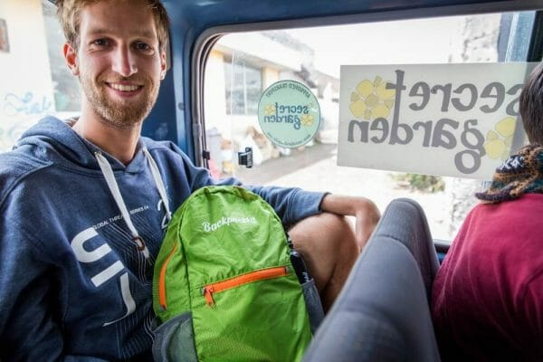 Backpackkit busreis backpacken daypack