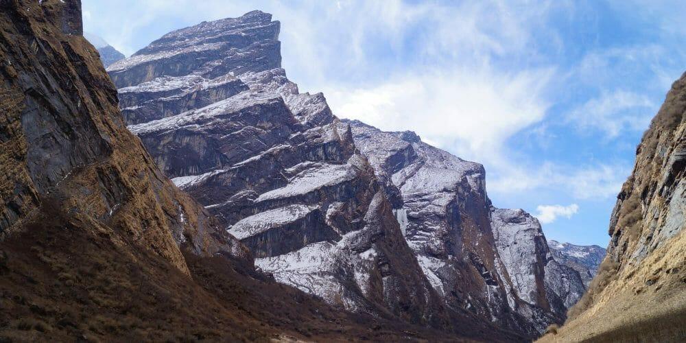 Backpacken in Nepal header vallei