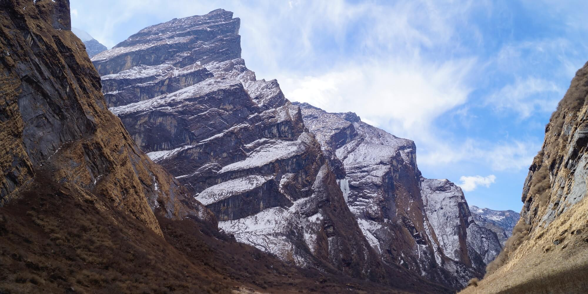Backpacken in Nepal header vallei
