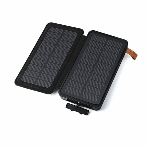 Backpackkit solar oplader powerbank open